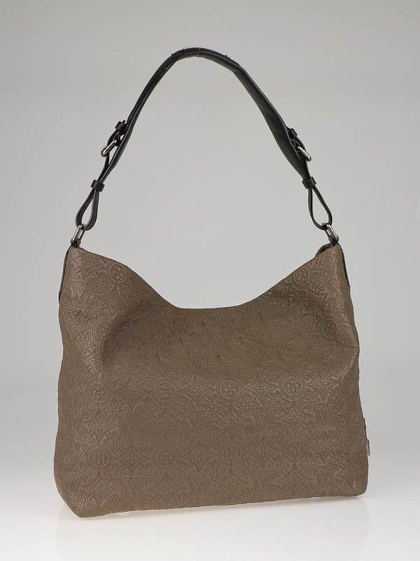 d134c8430473 Louis Vuitton Fumee Monogram Antheia Leather Hobo PM Bag