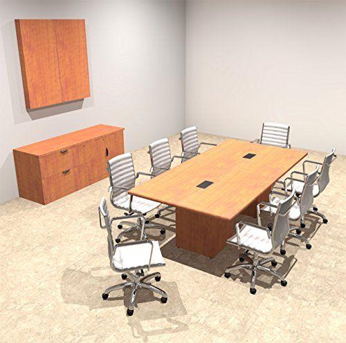 modern rectangular top cube leg 8 feet conference table of con cs3 rh pinterest com