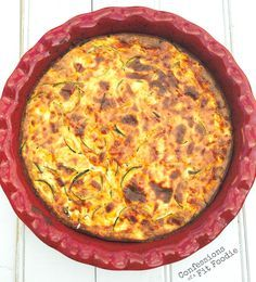 crustless zucchini quiche made this today with cottage cheese rh pinterest es