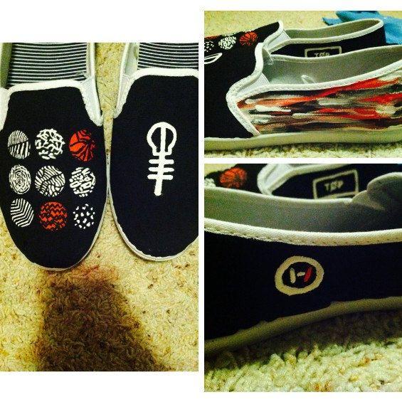 Josh Dun Nike Shoes