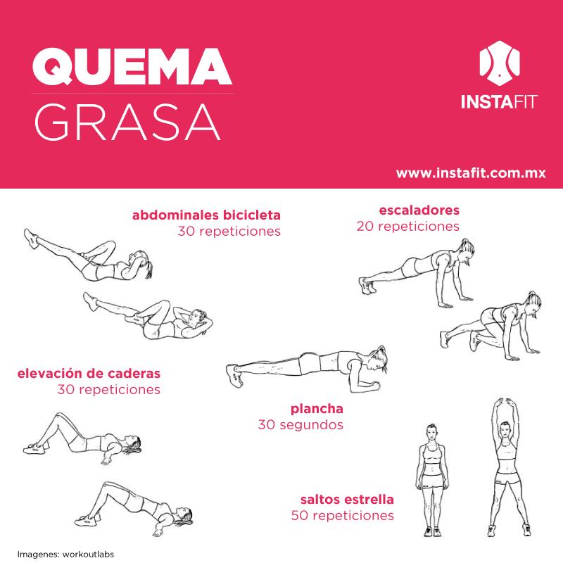 Los mejores ejercicios para quemar grasa Muy Fitness