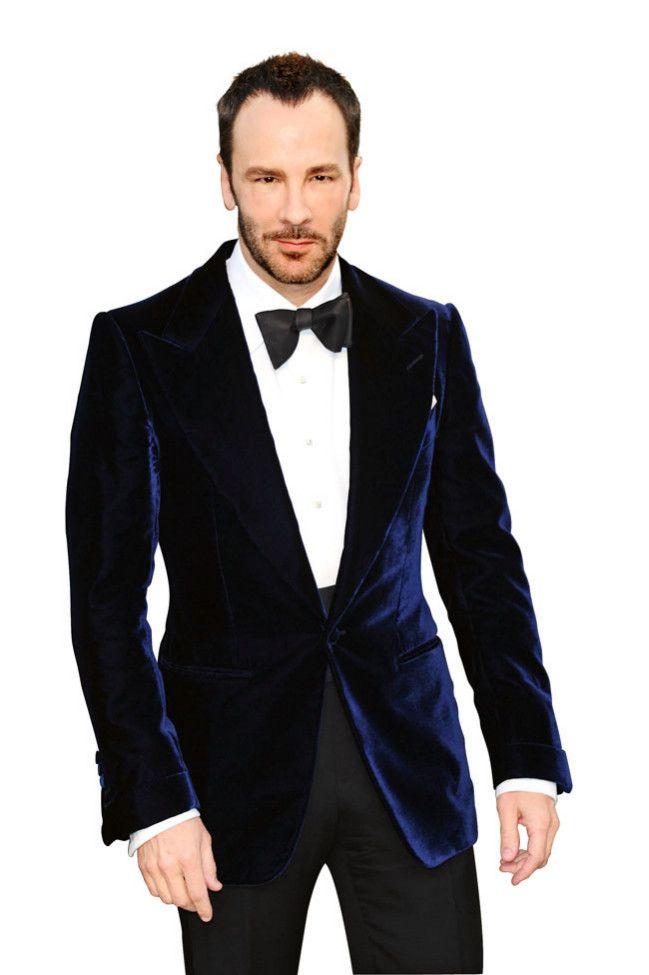 faee24e6 Blue Velvet Blazer by Tom Ford. | Gentlemen, please. | Vetements ...