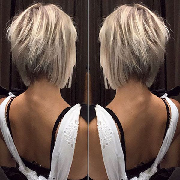 30+ Best Short Hair Back View Images | Short Hairstyles 2018 - 2019 | Most Popul... Check mor...