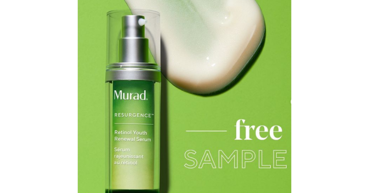 FREE Murad Retinol Skincare Sample (Instagram) in 2020