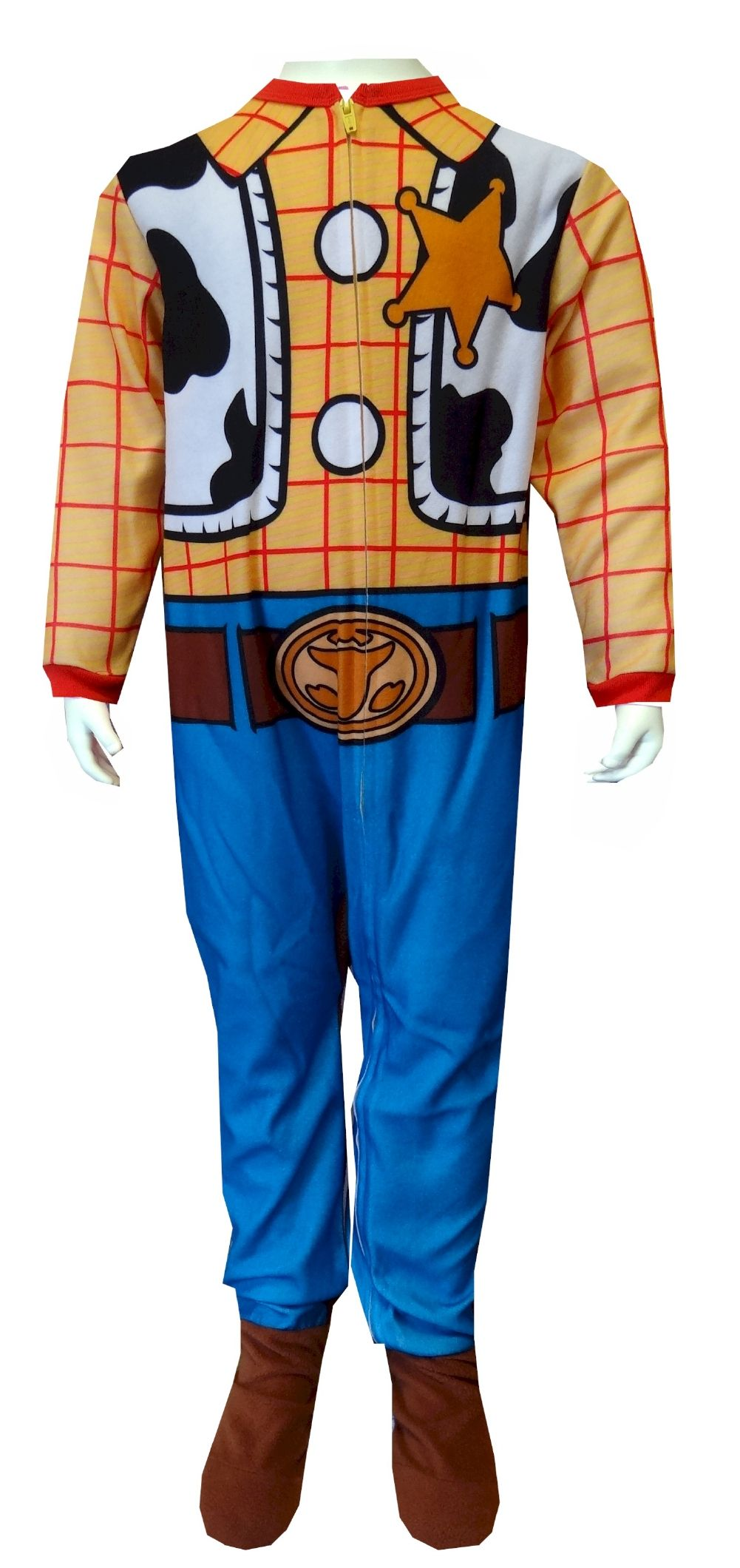 9e811a7a2 Disney Pixar Toy Story Woody Toddler Footie Pajama He'll look and feel like  Woody in these awesome character pajamas! This flame resistant blanket  sleeper ...