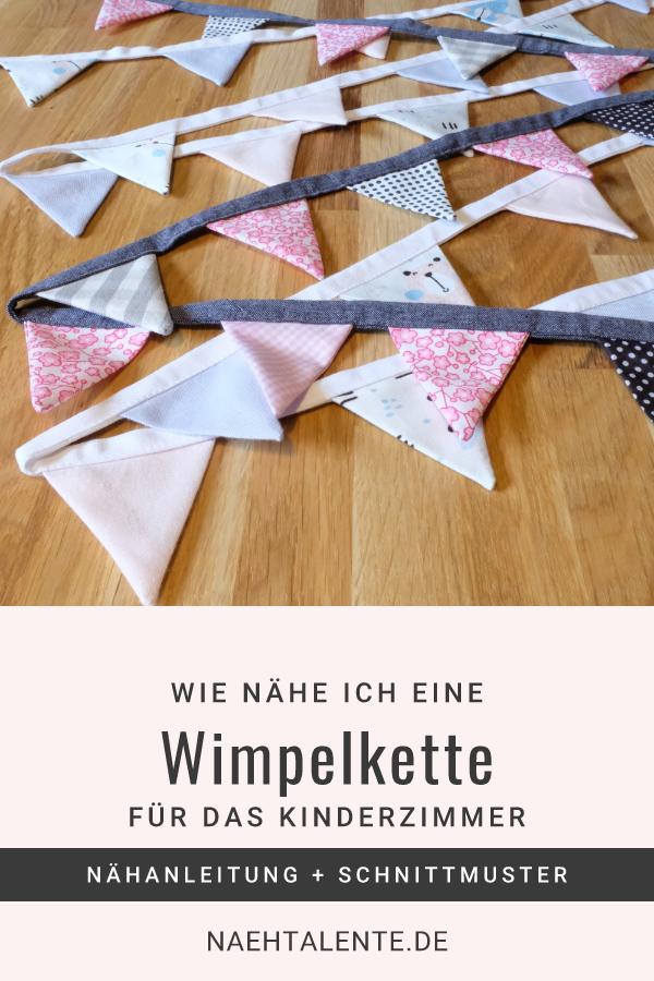 Coudre une chaîne de fanion simple – instructions et patrons de couture gratuits | Talent de couture   – Nähen/Umändern