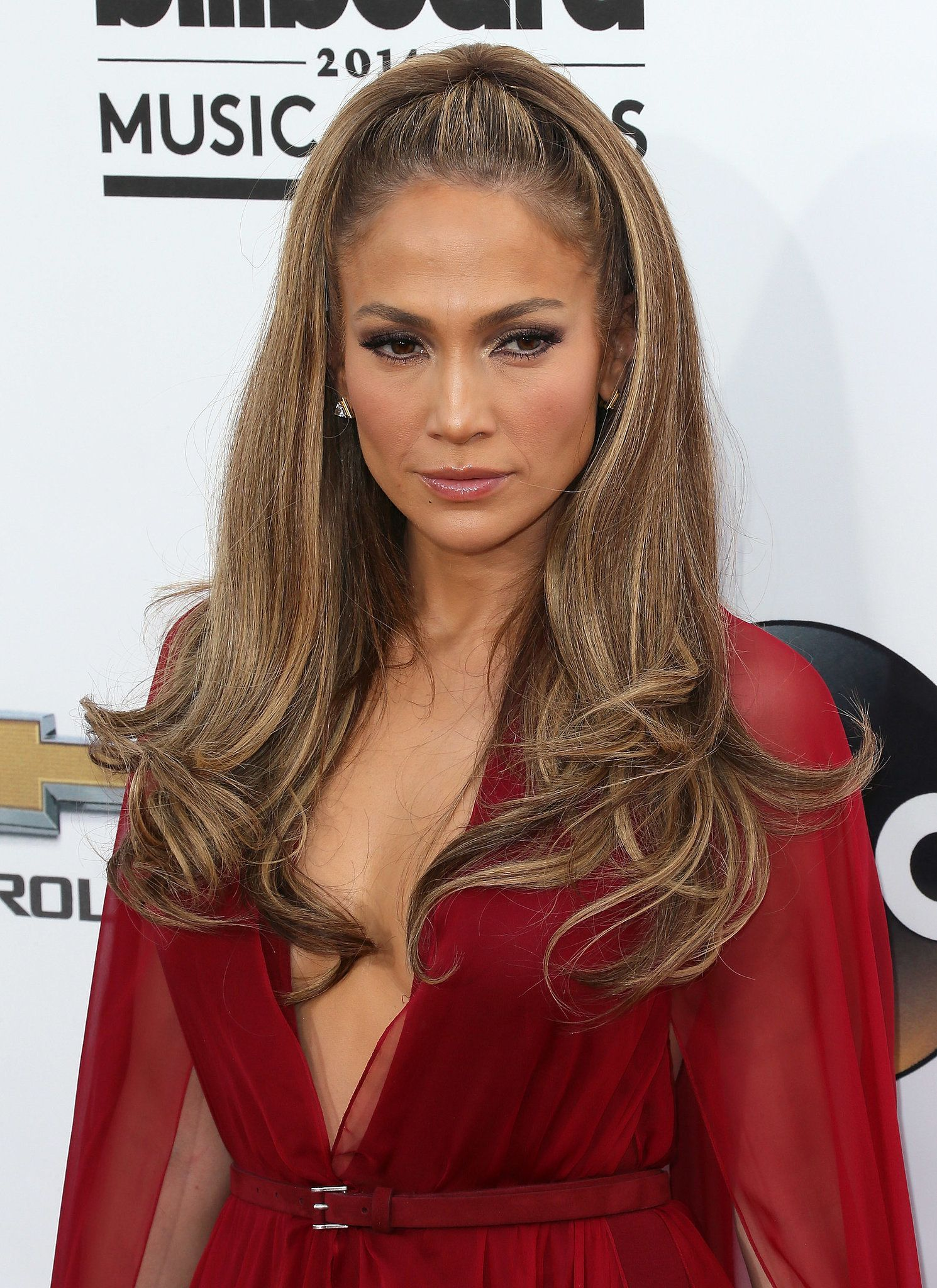 Jennifer Lopez Made A Case For How Half Up Hair Can Look