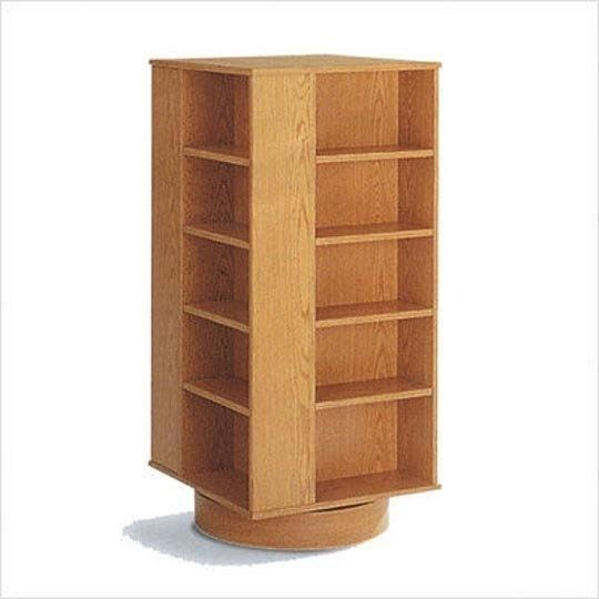 Wonderful Space Saver U2014 Revolving Bookcases Revisited Awesome Design