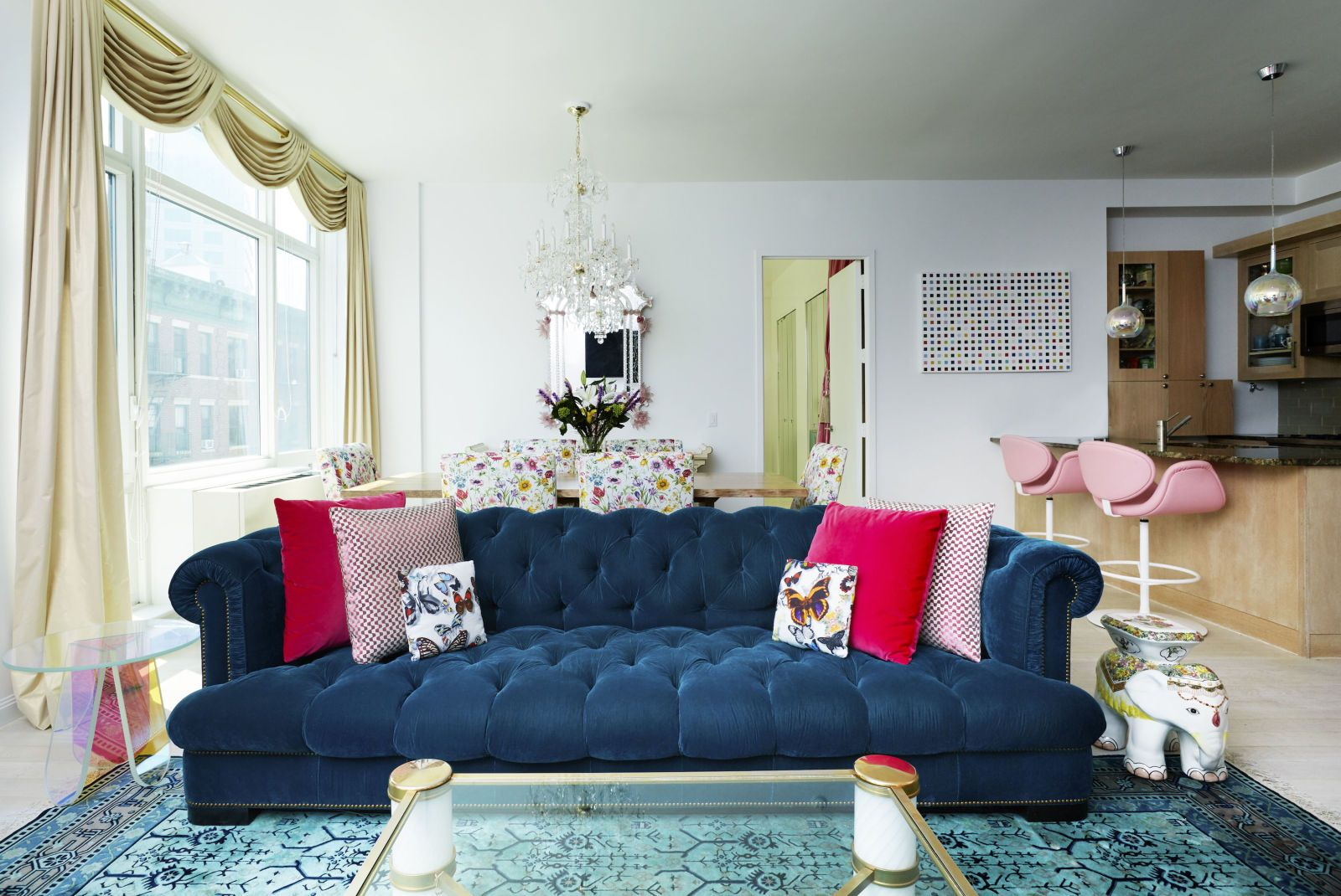 A Manhattan Socialite S Apartment Is The Whimsical Fairytale We Ve All Been Dreaming About Whimsical Living Room Furniture Whimsical Living Room Decor Whimsical living room decor