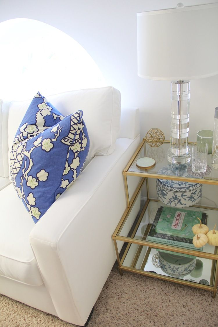 Guest Room Side Table - West Elm Torrence | Redefining Domestics