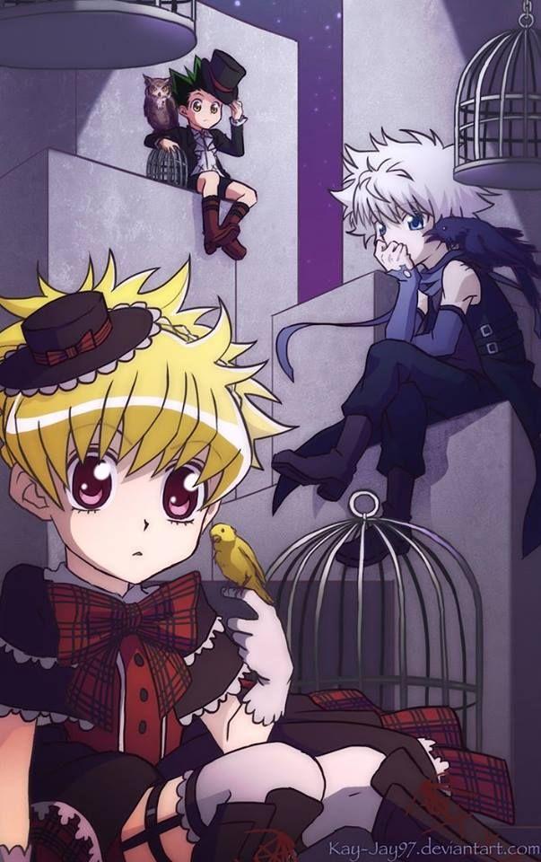 Bisky Kill E Gon Hunter Anime Hunter X Hunter Anime