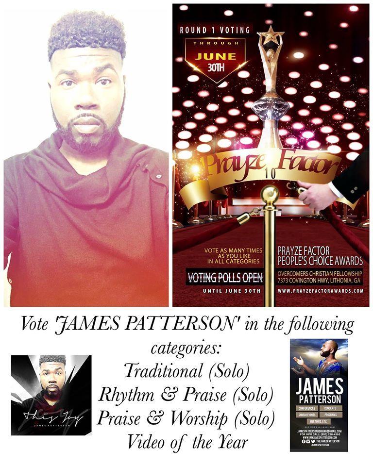 Gospel Recording Artist James L  Patterson lands 4 noms on