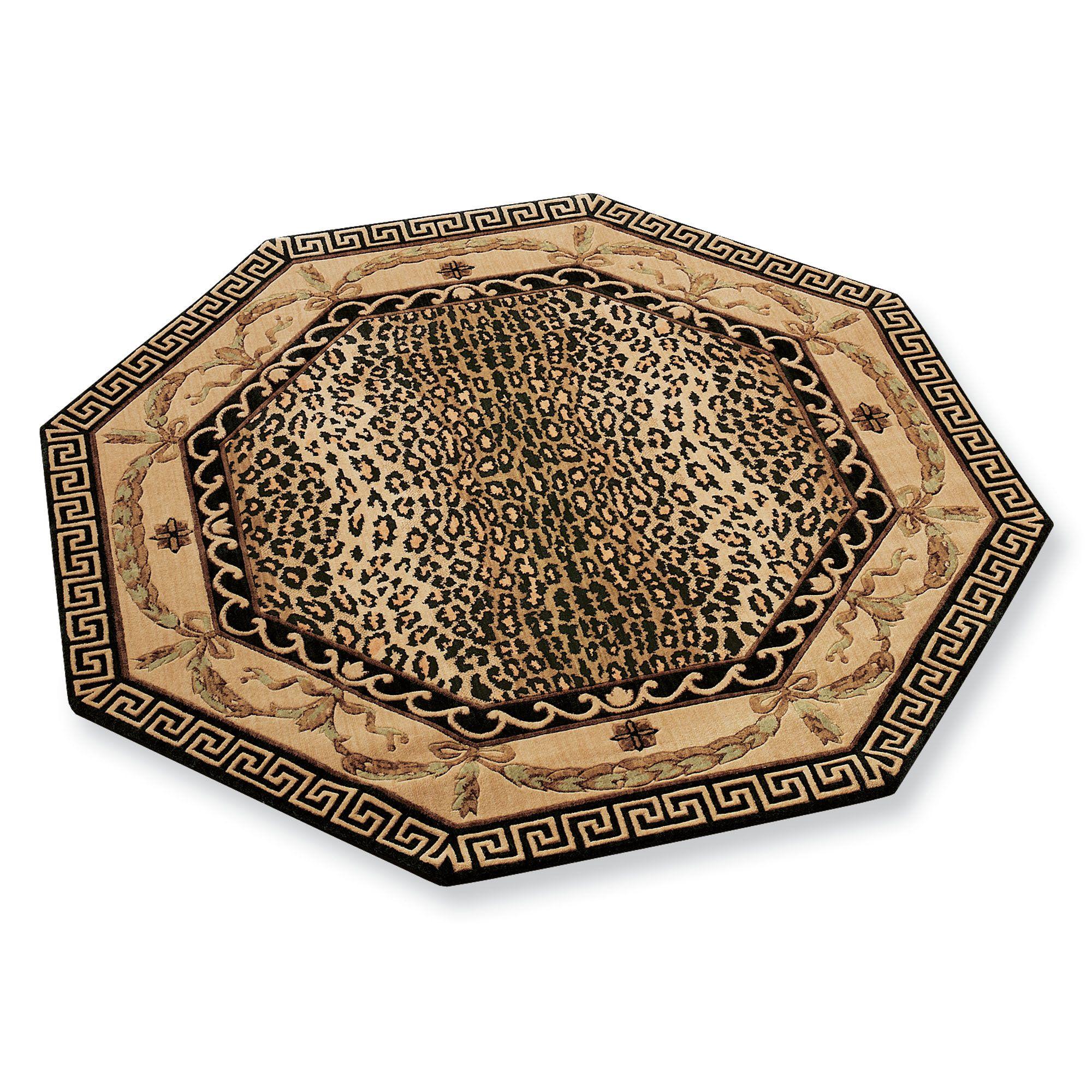 Leopard Print Rug In Dining Room: Bathroom Ideas Using Leopard Print