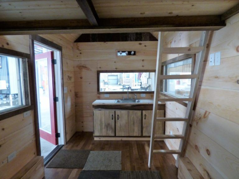 Affordable 16ft tiny house on wheels for sale in tennessee