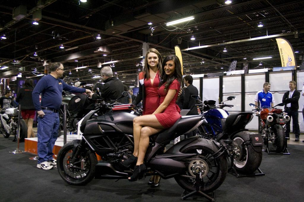 Ducati Show Floor 2013 Chicago Motorcycle Show With Images