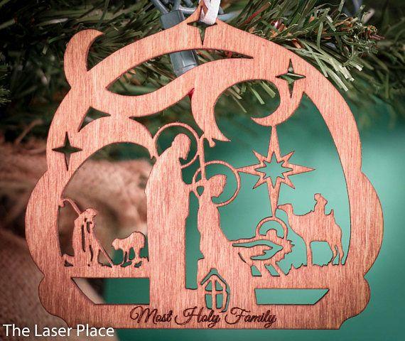 Custom Choose Your Size Laser Cut Wooden Art Craft Supplies Wall Hanging Decor Wedding Nursery DCS0334 Christmas Tree Evergreen with Star