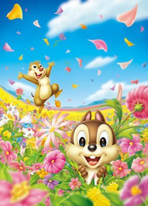 Dale 39 n 39 chip jigsaw puzzle chip n dale d 500 420 - Chip n dale wallpapers free download ...