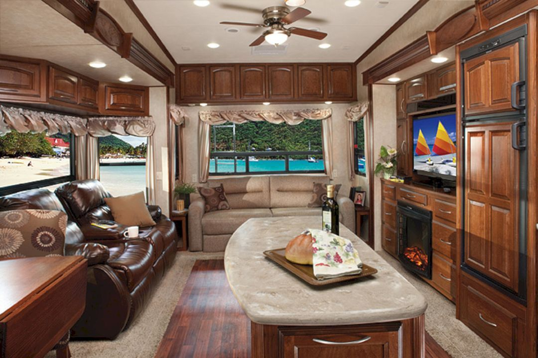 Breathtaking 40 Incredible RV Interior Design Ideas For You Modern