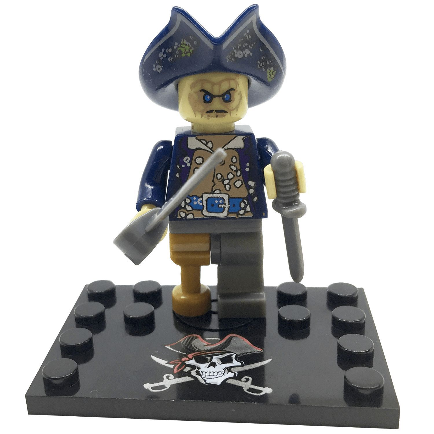 Brick Forces Minifigure Pirates Of The Caribbean Davy Jones