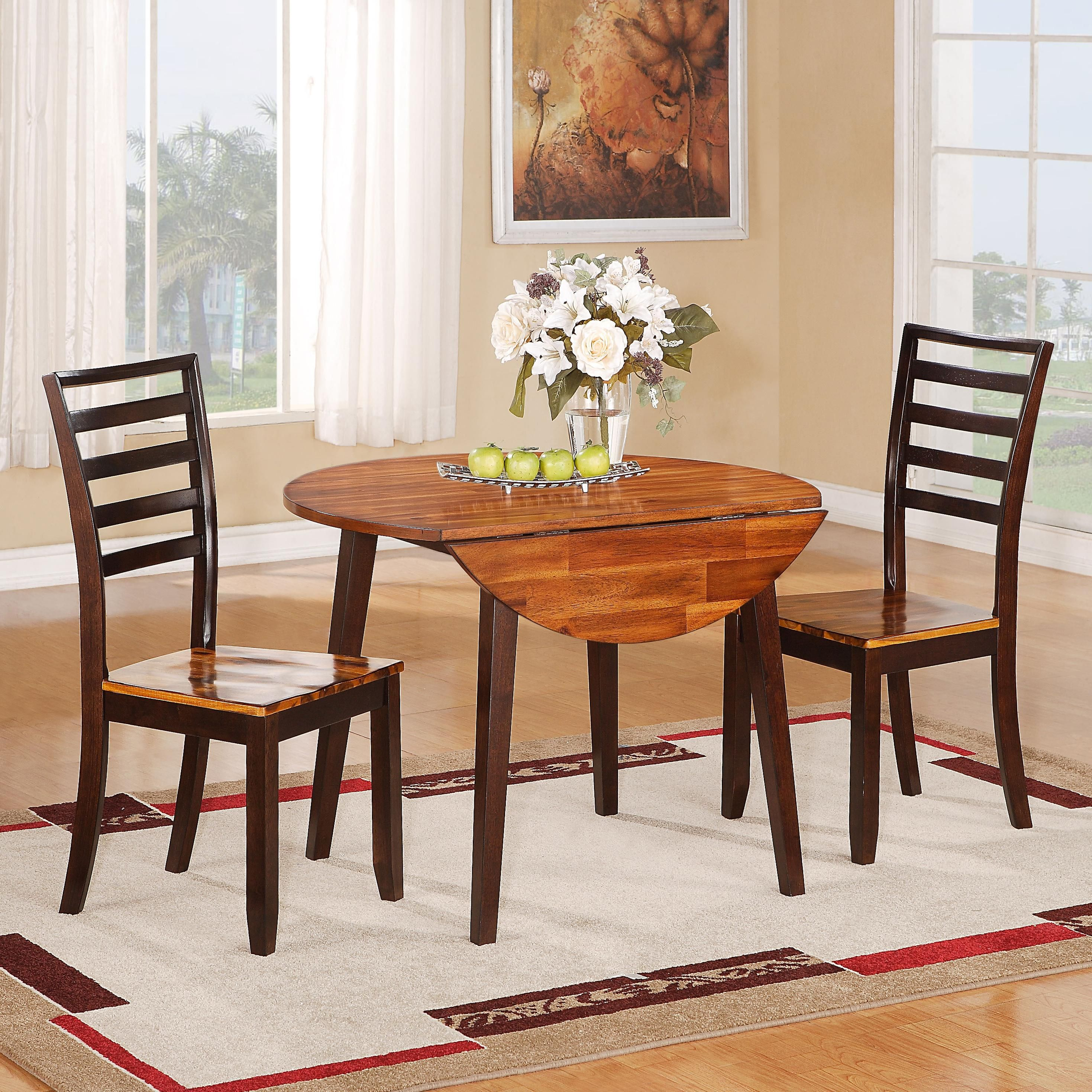 Greer Table 2 Chairs By Hathaway Extendable Dining Table