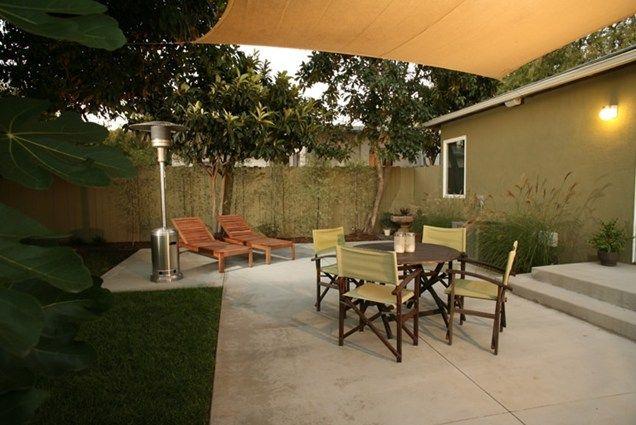 Marvelous Shade   Small Backyard Patio Patio Lisa Cox Landscape Design Newbury Park,  CA
