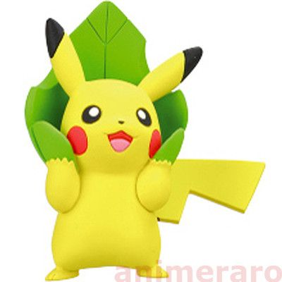 """Pokemon Pikachu Full Collection Part2 Figure Tomy Pikachu /""""Cheer Up/"""""""