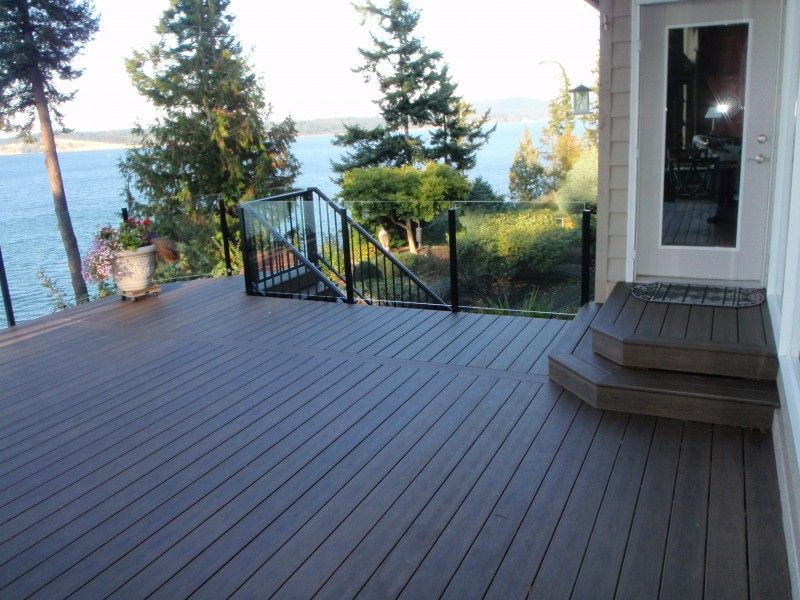 Cheapest Way To Cover A Deck | Outdoor Plastic Patio Flooring Options