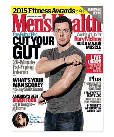 This Men's Health Magazine Subscription is perfect
