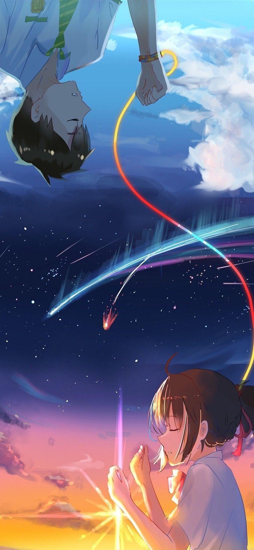 Pin By Rezu Chhetri On Your Name Your Name Anime Anime Background Anime Wallpaper
