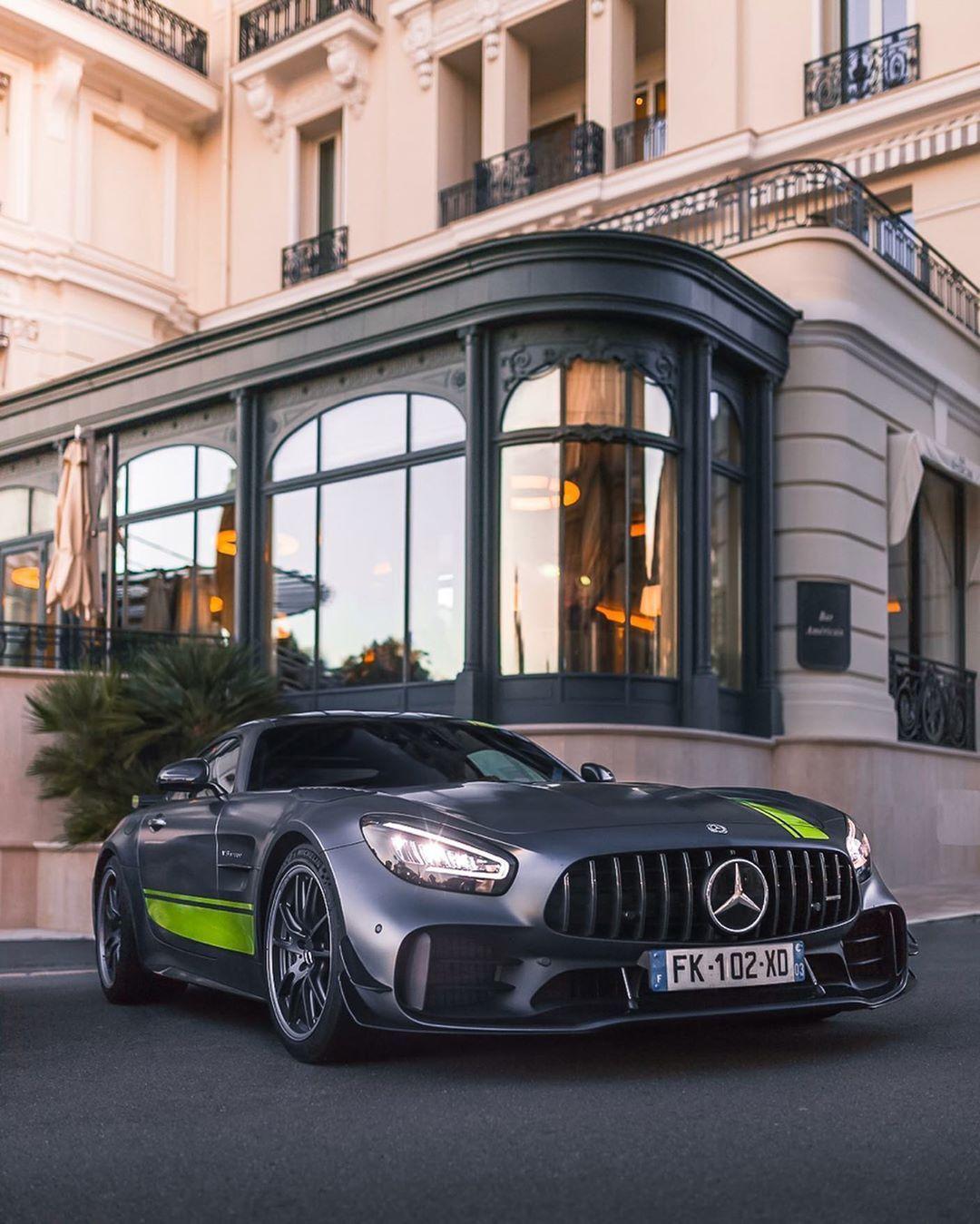 Monaco Monako On Instagram You Ll Need A Firearms License To Drive It Mercedes Amg Gtrpro Gtr Monaco Sports Car