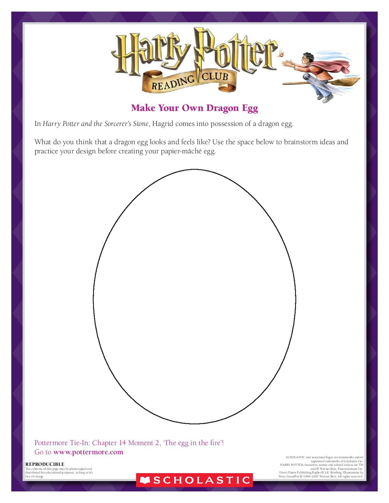 Craft Hatch Your Own Dragon Egg Download By Clicking The Image Above For More Activities