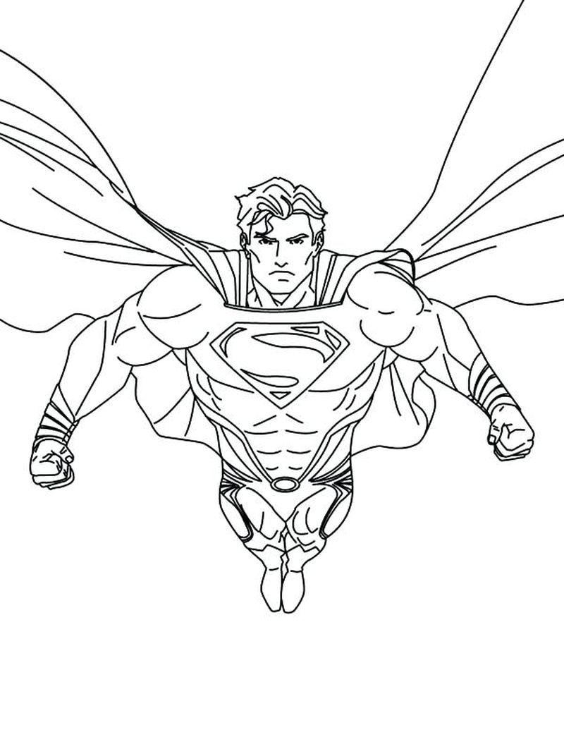 Best Superman Coloring Pages Printable Di 2020 Halaman Mewarnai Buku Mewarnai Warna