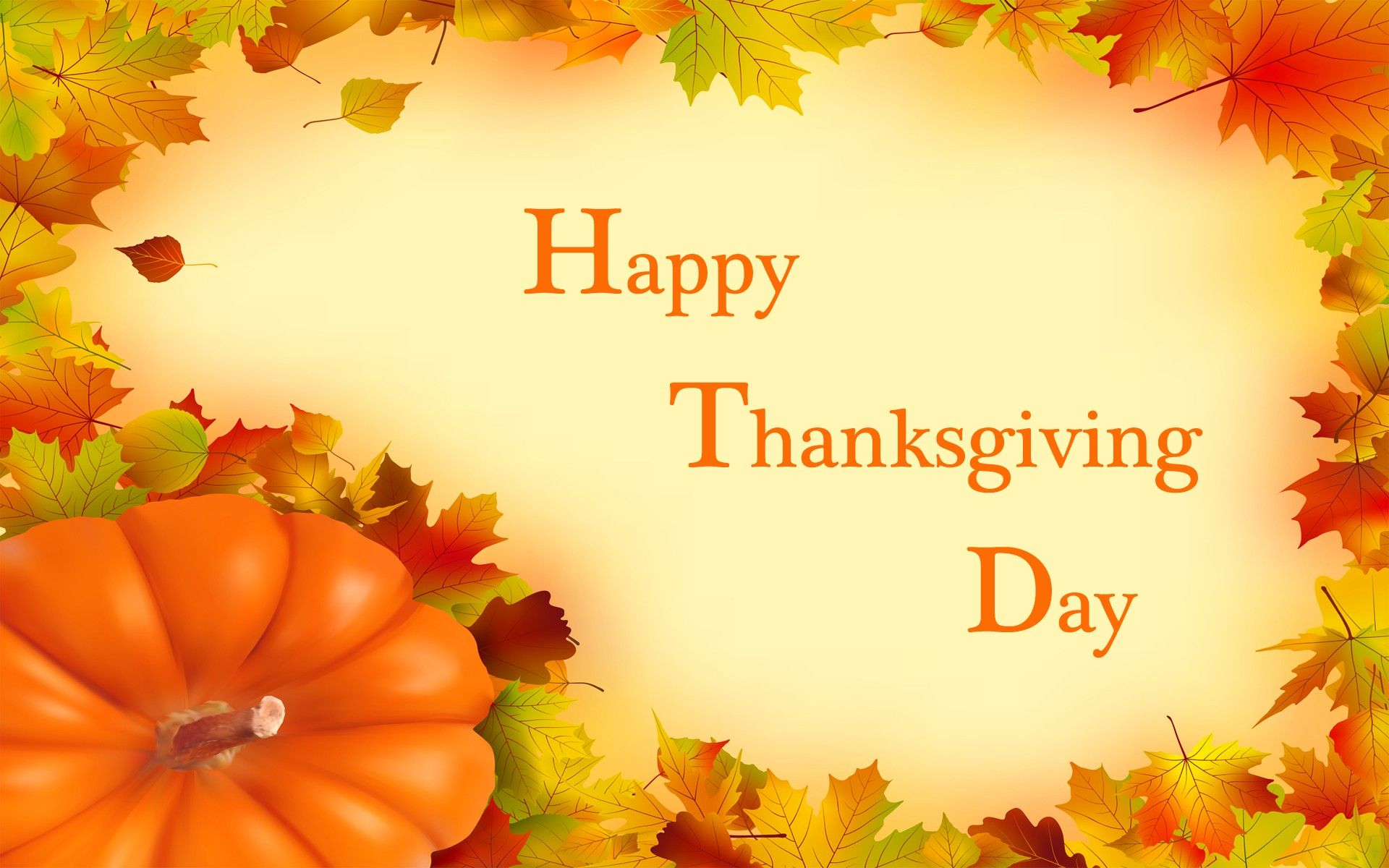Happy Thanksgiving Day Wishes Hd Wallpaper A Day For Thanksgiving