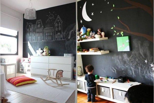 Pareti Lavagna Per Bambini : Trasformare le pareti di casa in una grande lavagna quotidiano.net