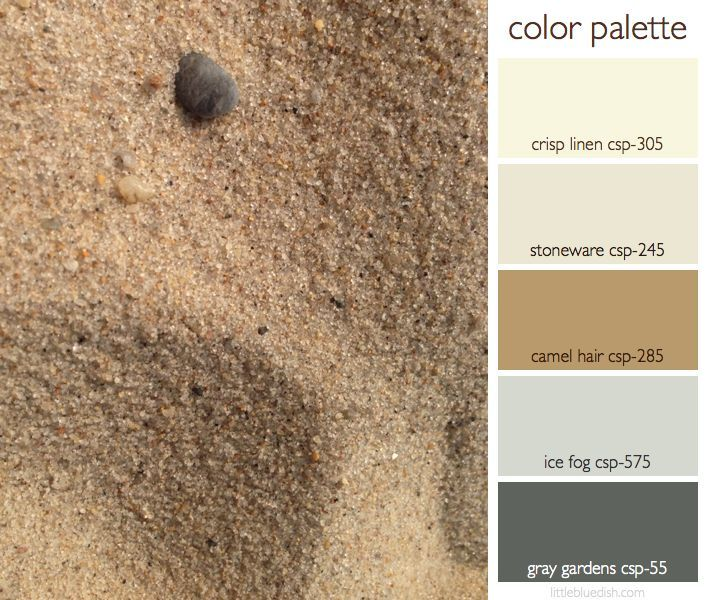 This Week S Color Palette Sandy Neutrals Little Blue Dish Color Palette Neutral Color Bedroom Grey Color Palette