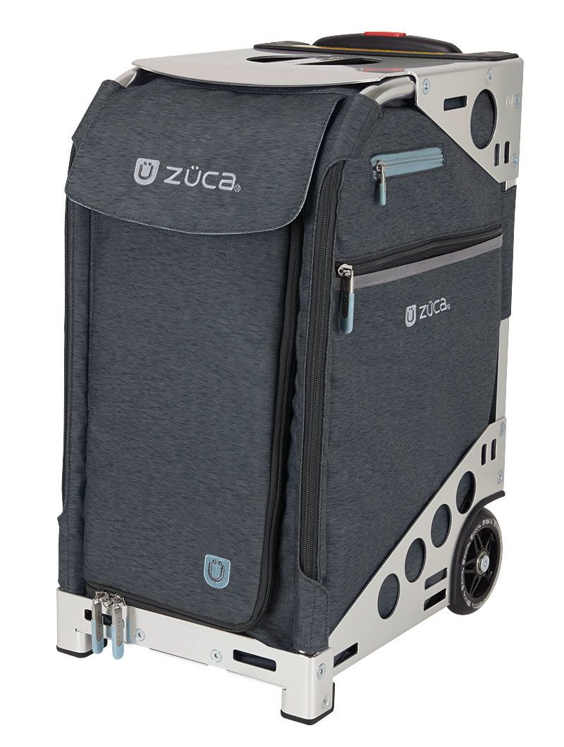 Zuca Professional Wheelie Case for Stenograph in Slate