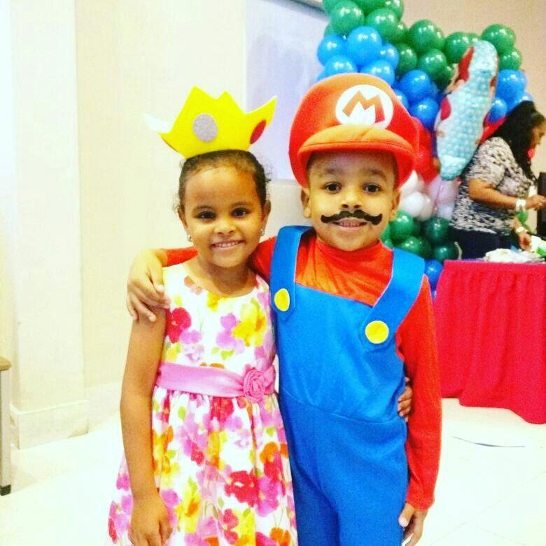 Cumpleaños Owen, tema Mario Bros