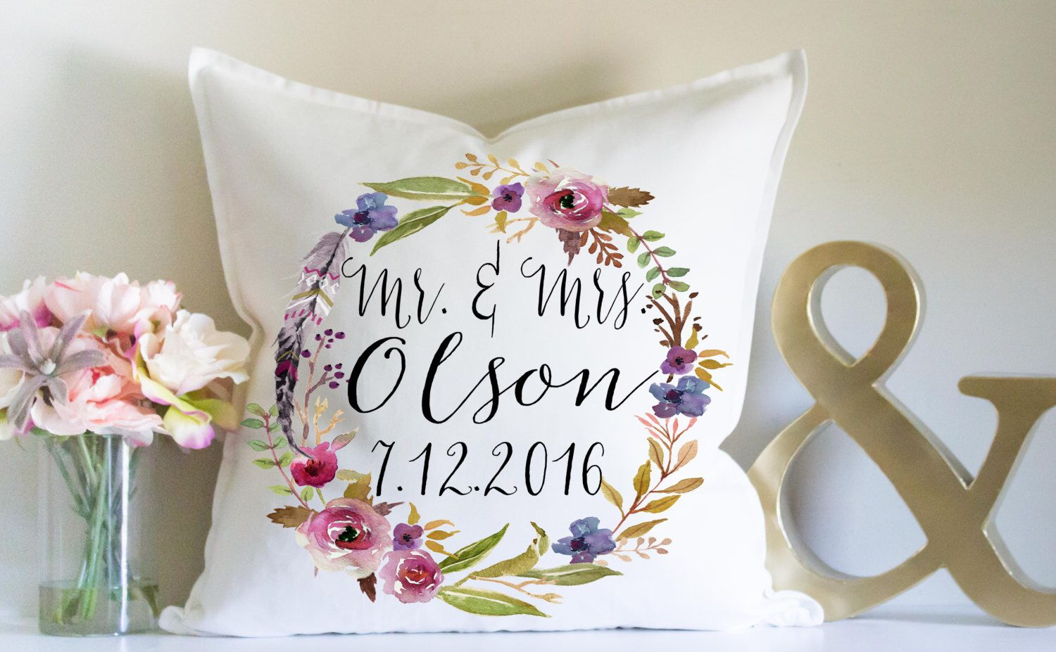 Wedding gift personalized wedding gift mr and mrs anniversary