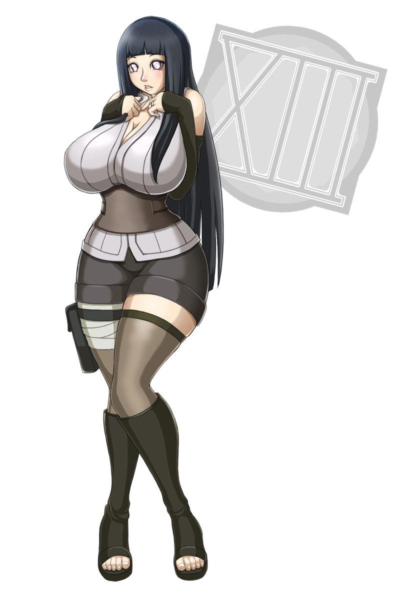 Hinata Hyuga Henti for hinata hyuga from narutowaifuholic / black hair / anime girl