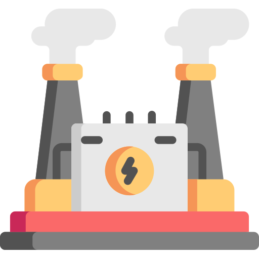 Power Plant Free Vector Icons Designed By Freepik Vector Free Vector Icon Design Free Icons
