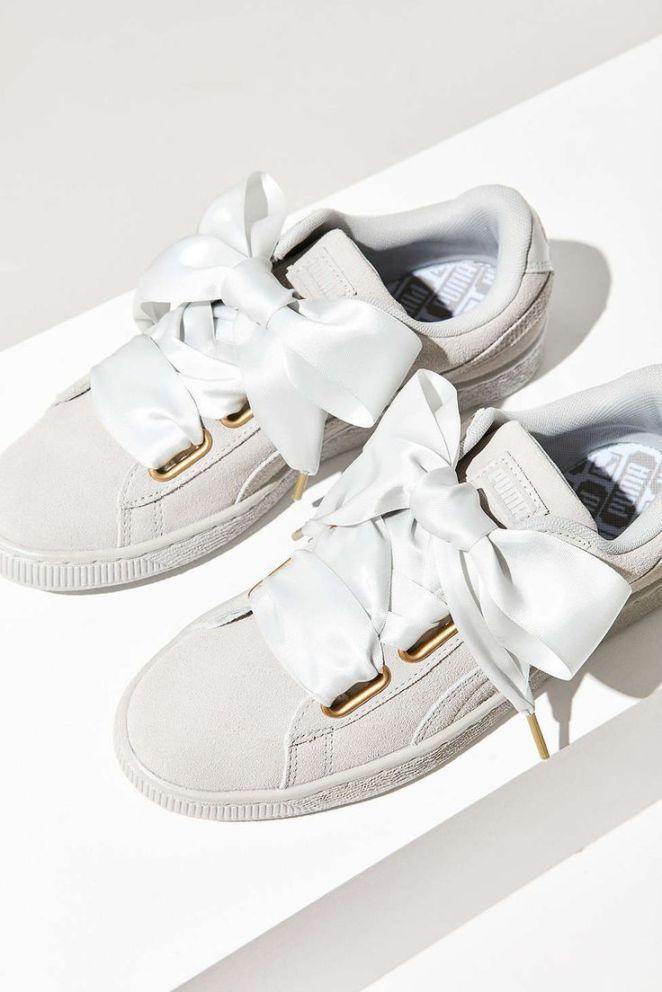 chaussure puma femme noeud