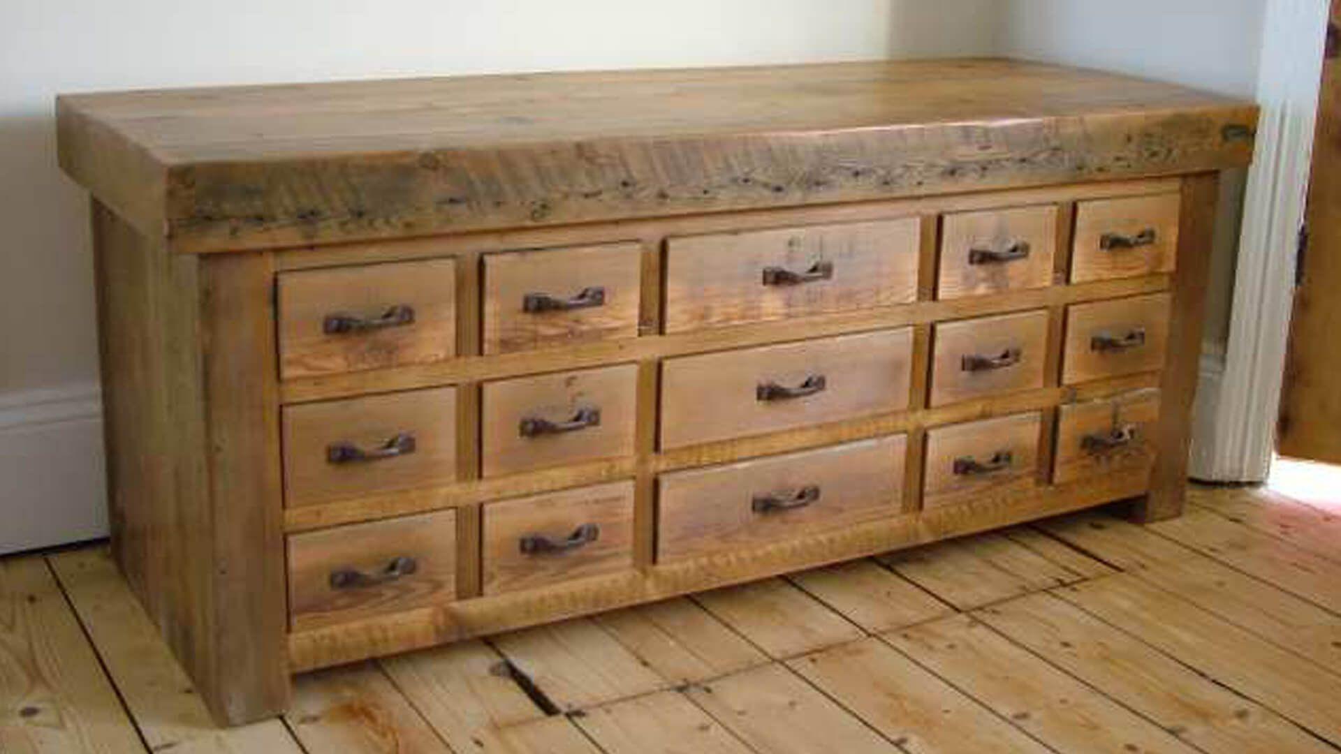 Bespoke Wooden Furniture Reclaimed Pine Bedroom Drawers Born Of Wood Furniture Furniture Disposal Pine Bedroom