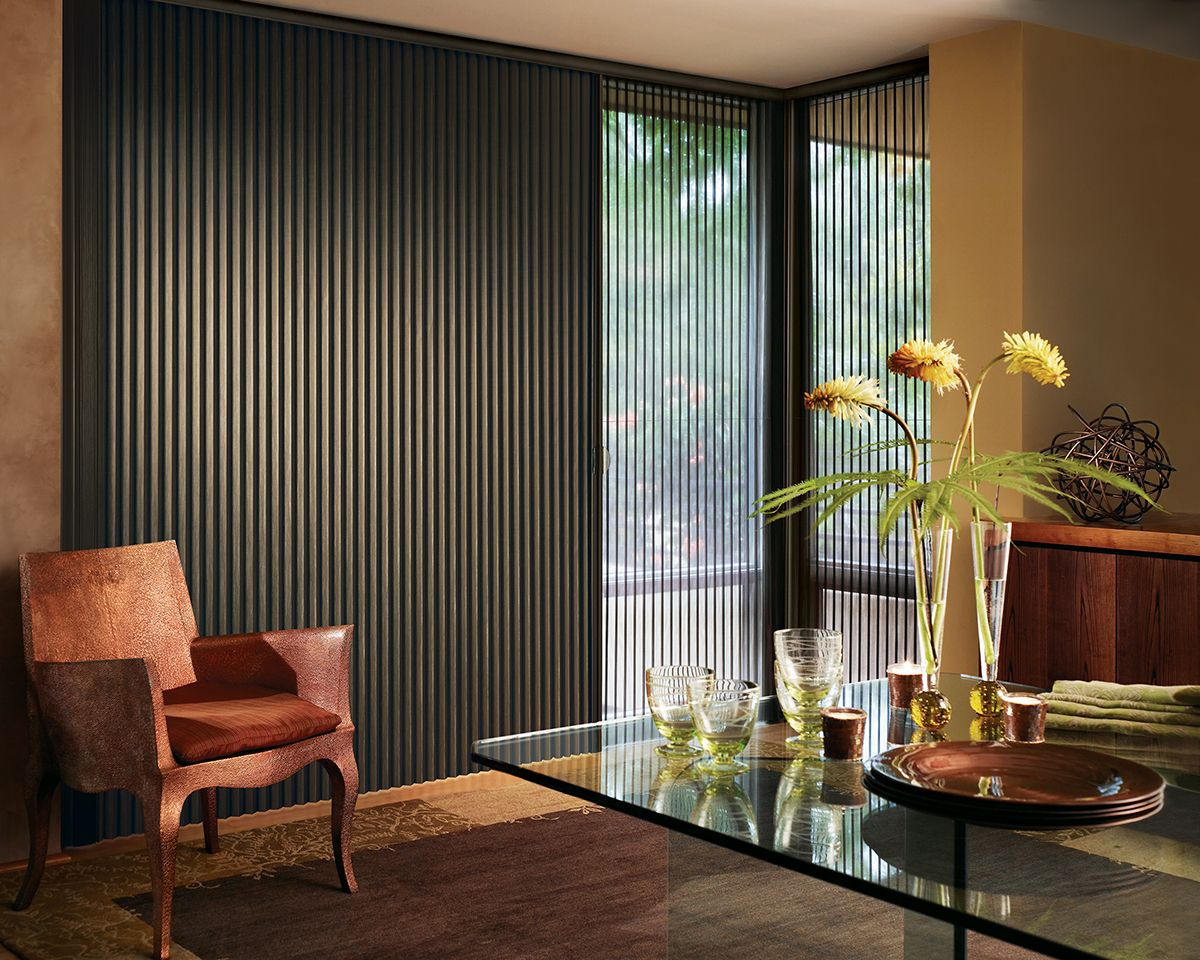 Ara Duette With Vertglide Is A Perfect Window Treatment Solution For Sliding Glass Doors It S Energy Efficient And Stylish