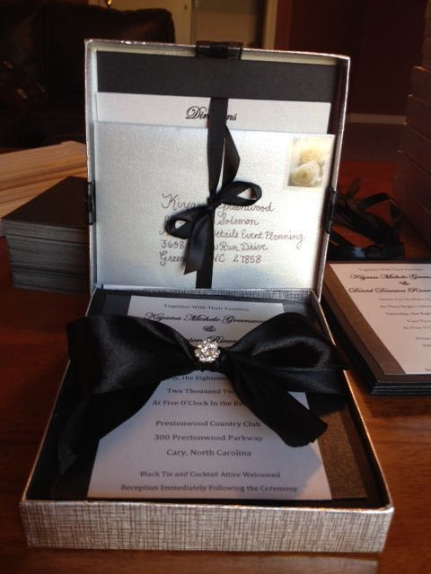 Diy Wedding Invitations Boxed Meridian Bride