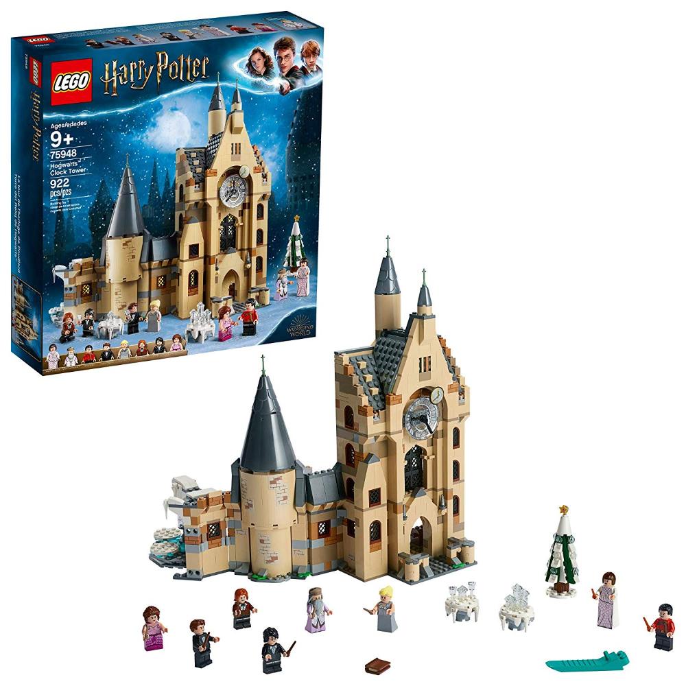 Lego Harry Potter Y El Cáliz De Fuego Torre Del Reloj De Hogwarts 75948 Building Kit De 922 Elementos M Hogwarts Lego Lego Harry Potter Hogwarts
