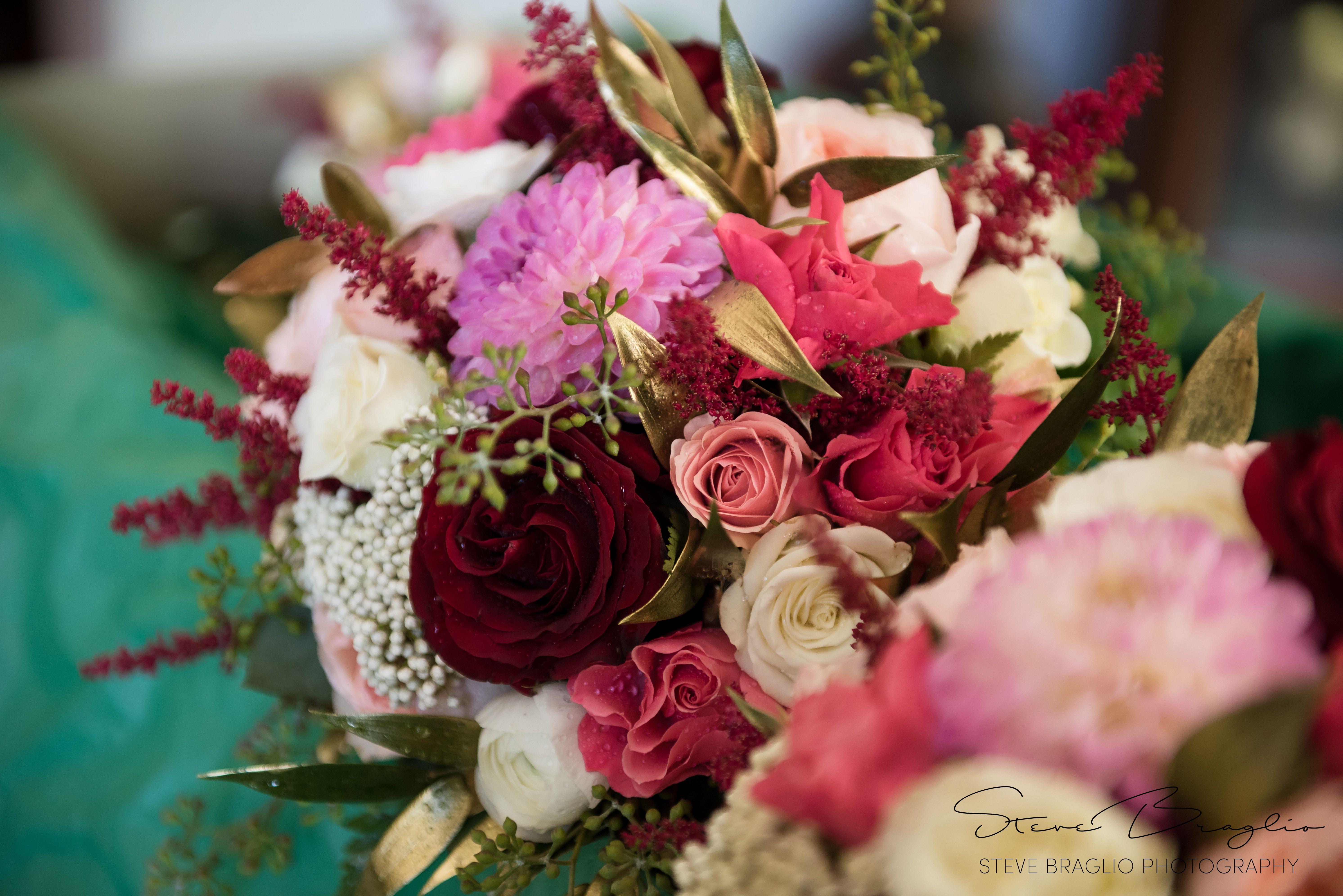 Photos By Steve Braglio Stevebraglio Pink Red White Wedding