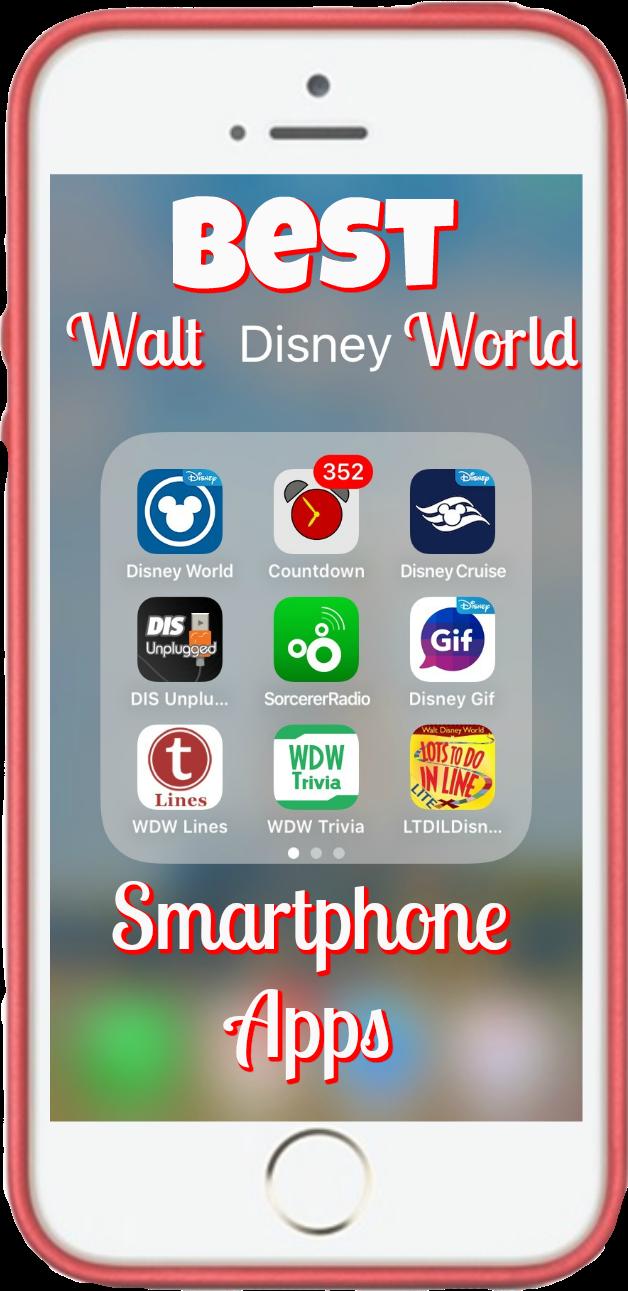 Best Walt Disney World Smartphone Apps Walt disney, Walt