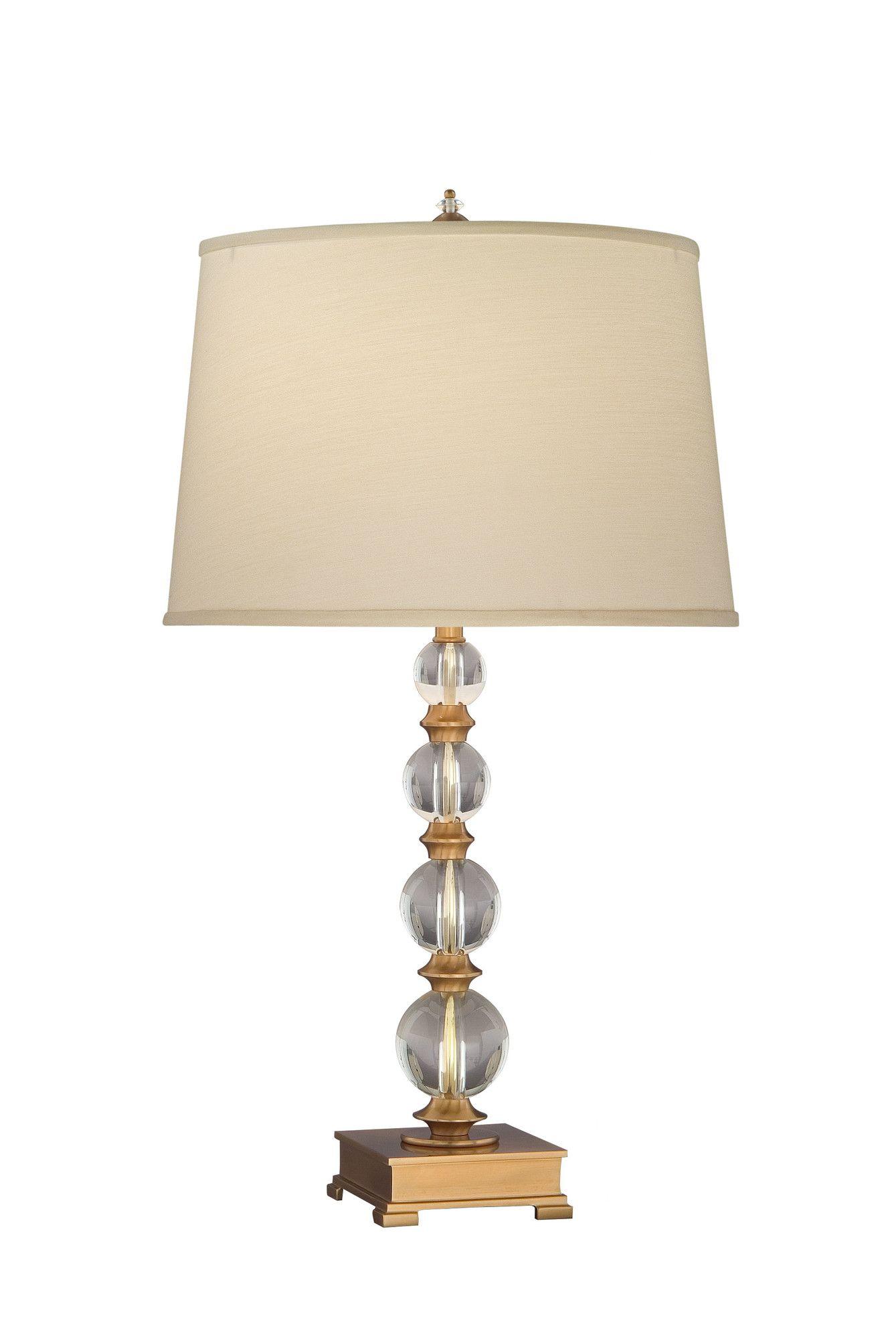 """Lead Crystal 29"""" Table Lamp"""