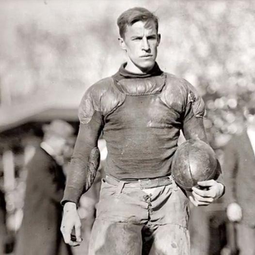 Football player, 1920s