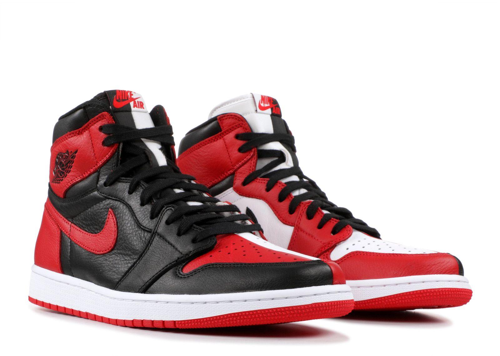 Air Jordan 1 Retro Homage To Home Sneakers Womens Fashion